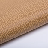 New Design Knitted Fabric Decorative Sofa Use PVC Leather