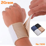 Palm Wrap Hand Brace Support Elastic Wrist Sleeve Band, Gym Sports Training Guard and Hand Protection