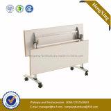 New Design Promotion Price Metal Antique Wooden Folding Table (HX-5D177)