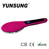 Hot Selling Manufactory Price New Hair Straightener Brush (YS-6656)
