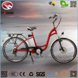 250W Cheap City E-Bike with Lithium Battery Road Bicycle