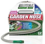 25FT 304 Stainless Steel Gardon Hosewith Nozzle Head