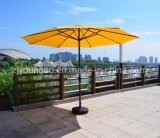 3.5m Patio Umbrella 48mm Metal Frame Outdoor Garden Crank Umbrella