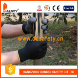 Ddsafety 2017 Black PU Coated Safety Working Glove