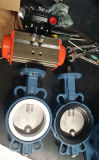 Pneumatic Butterfly Valve with EPDM, PTFE Seat