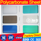 Polycarbonate Plastic Roof Panels Twin-Wall Hollow Sheet
