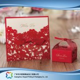 Christmas Cardboard Paper Packaging Custom Card for Greeting /Gift (xc-fbk-051)