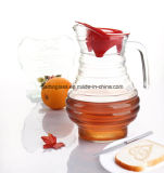 Old Fashion Glass Pitcher with 1.7L