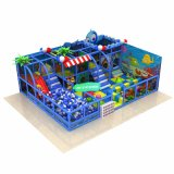 Marine Theme Children's Amusement Park Equipment Children's Soft Cheap Indoor Playground