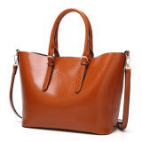 Fashion Simple Lady Tote Mummy Bag Shopping Bag Hot Sell Bag (WDL0208)