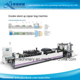 Heavy Duty Multifunction Laminated Plastic Coffee Bag Making Machine+Four Side Seal