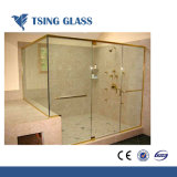 8mm Acid Etched Tempered Glass Toughened Glass for Shower Room Door