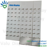 Wall Mounted Retail Display Shoes Panel Board Shelf Stainless Steel Shoe Rack