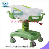 Bbc006 Medical Care Equipment Height Adjustable Hospital Baby Cart