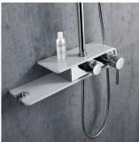 Child Available Design Stainless Steel Rain Shower Head Set