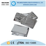 130*210cm Silver Foil Emergency Blanket