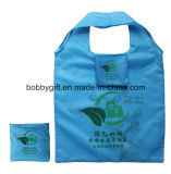 High Quality Folded Polyester Tote Shopping Bag