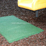 High Density Safety Protector Rubber Park Swing Mat