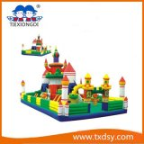China Funny Bouncy Castle, Amusement Park Type Inflatable Paradise