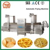Automatic Food Fryer Machine Continuous Belt Conveyor Frying Machine