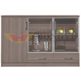 Modern Wooden Office Tea Water Tank Furniture (HY-NNH-C01)