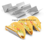 Stainless Steel Taco Holder with Handles for Hard or Soft Taco Holder