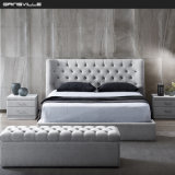 New Hot Sale Bedroom Furniture Modern Furniture Sofa Bed Fabric Bed King Bed Wall Bed in Italy Fashion Style