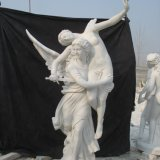 Outdoor Garden Angel Polyresin Figure Hotel Roman Statue Decoration Sculptures Home Decor Resin Modern Art Sculpture