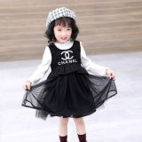 Winter Girls New Style, Small Fragrance Wind Sundress, High Quality Children's Winter Dress. Children Wear. Girl's Dress. Children's Clothes