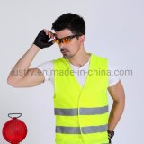 Security Vest High Visibility Red Blue Wholesale Reflective Safety Vest for Cycling