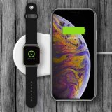 2in1 Qi watch Iwo5 Wireless Fast Charger for Apple Watch Phone Charger
