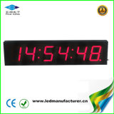4 Inch 6 Digit Indoor LED Digital Wall Gym Clock