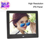Cheap Price Square 8 Inch Thinnest LCD Digital Photo Frame RoHS with Picture Video Loop Playback