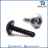410 Stainless Pin Hex Button Head Self Drilling Security Screw