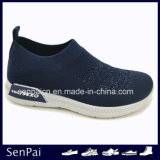 Slip on Women and Men Injection Flyknit Sock Sneaker