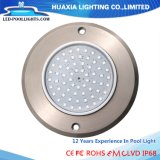 IP68 12V Flat 316ss Ultra Thin LED Underwater Swimming Pool Lamp