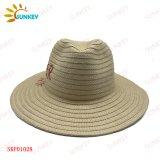 2021 New Collection Best Seller Ladies Paper Braid Hand Stiches Summer Beach Sun Straw Hats
