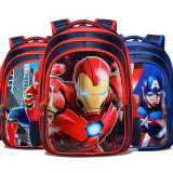 2020 Fashion Cartoon School Bag Primary School Boy Backpack Shoulder Trend Custom Children′s Backpack