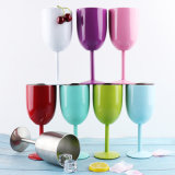 9 Colours 10oz Stainless Steel Wine Glasses Double Wall Vacuum Insulated Wine Goblet