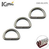 Dongguan Factory Wholesale Cheap 10mm Metal D-Ring Strap, Custom Zinc Alloy Metal D-Ring for Bags