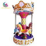 Cute Design Mini 3 Seats Carousel Kiddie Games