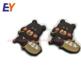 Cheap Design Custom 3D Bear Cartoon Logo Soft PVC Rubber Fridge Magnets for Home Decor and Toys