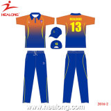 Healong Sportswear Wholesale Customized Cricket Jerseys Uniforms for Teamwear
