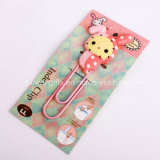 Charming Cartoon Soft PVC Bookmarker for Stationery Gifts