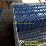 Decorative Faç Ade Wallpaper Aluminum Hexagonal Perforated Steel
