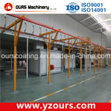 Electrostatic Powder Coating Line with Recovery System