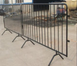 Portable Temporary Crowd Control Barricade/Traffic Barrier with Bridge Feet