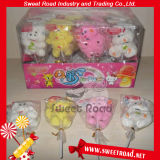 Cartoon Animal Shape Marshmallow Lollipop