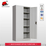 Home Use Grey Color Metal Cupboard with 3 Point Lock