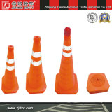 60cm Folding Waterproof Cloth Road Cone for Private Car Use (CC-AB60)